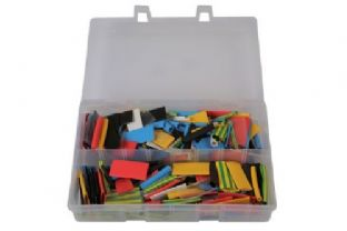 Connect 31894 Assorted Coloured Heatshrink Qty 300  pieces